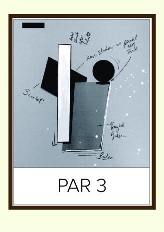par 3 framed and nails