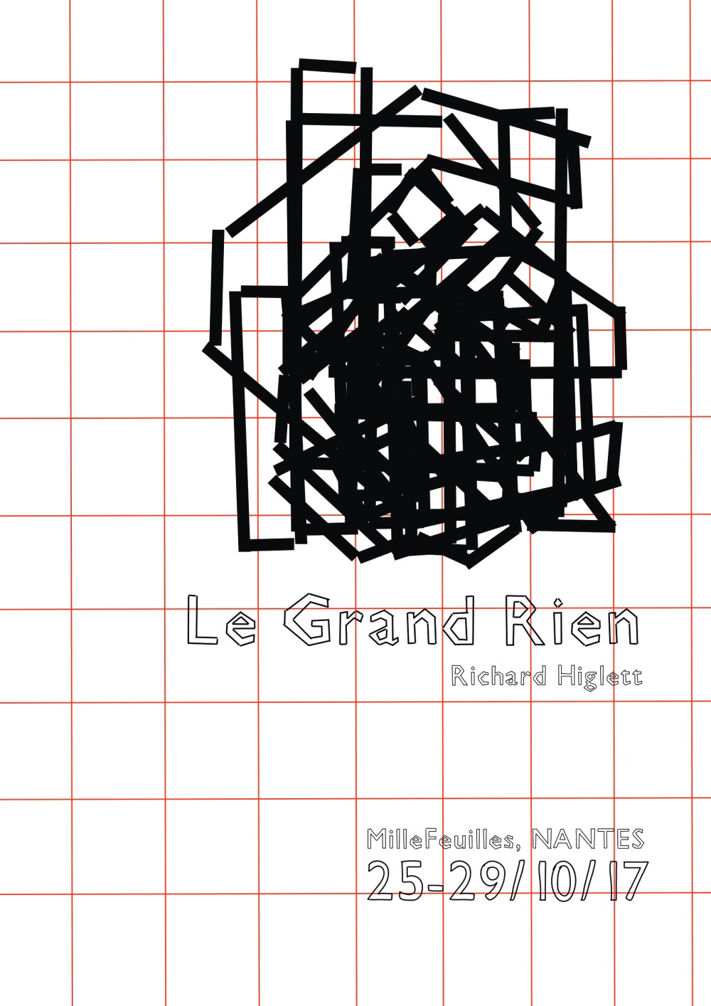 grand rien over laid letters
